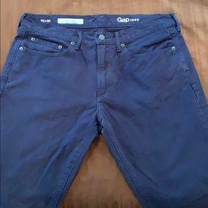 GAP Denim 1969 Slim 32/34 Jeans Dark Blue